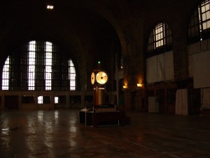 Art Deco Clock Inside the Buffalo Central Terminal