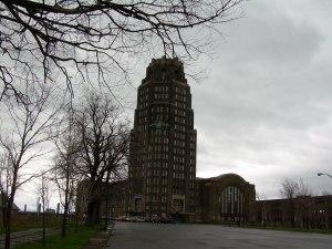Exterior - Buffalo Central Terminal