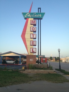 Skyliner Motel, Route 66: Stroud, Oklahoma