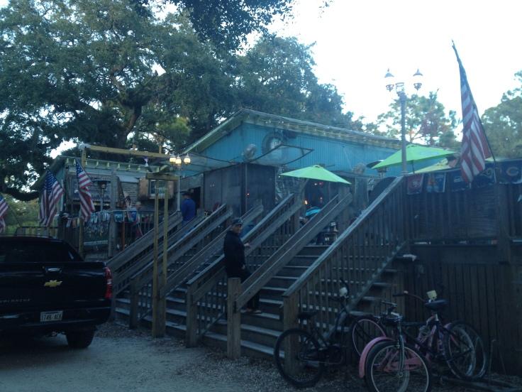 Outside Huc-A-Poos - Tybee Island, GA