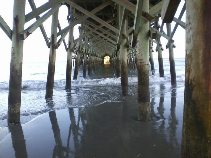 Tybee Island, GA - Underneath the Pier