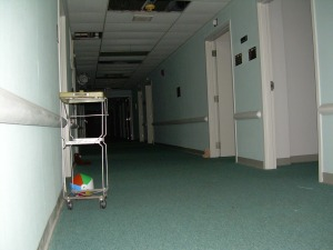 Third Floor, Pysch Ward - Inside Old South Pittsburg Hospital in Tennessee