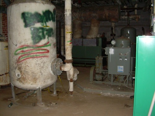 Basement - Old South Pittsburg Hospital in Tennessee
