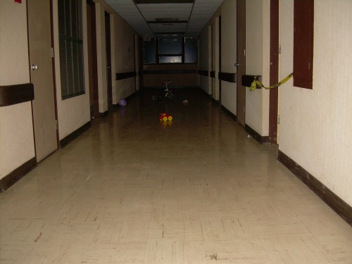 Downstairs - Old South Pittsburg Hospital in Tennessee