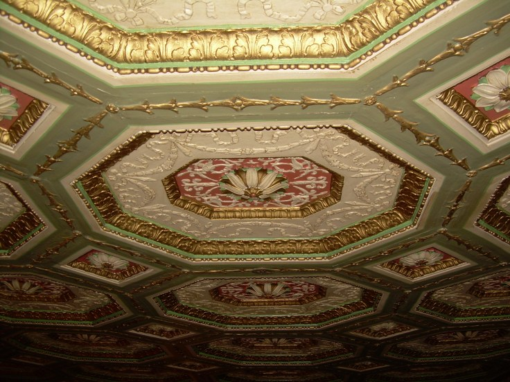 Ceiling detail of the historic Brown Hotel - Louisville, KY