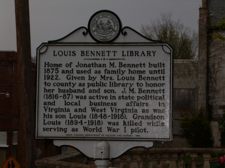 Louis Bennett Library: Weston, WV