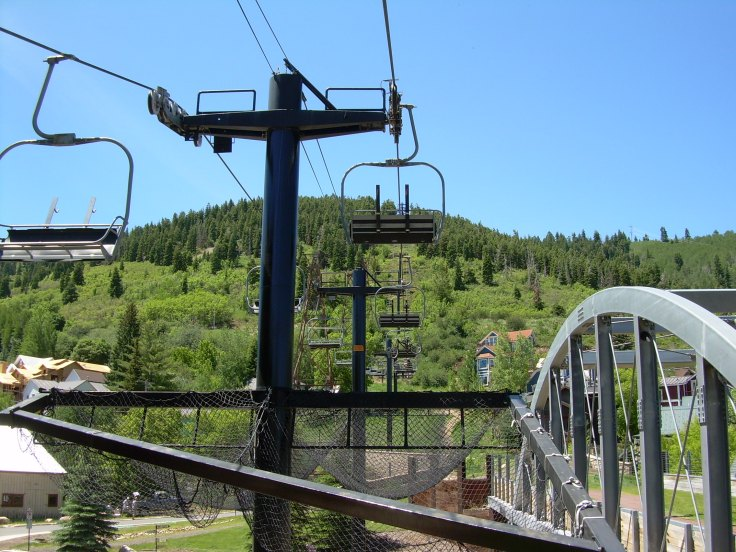 ski lift in summer - Park City, UT