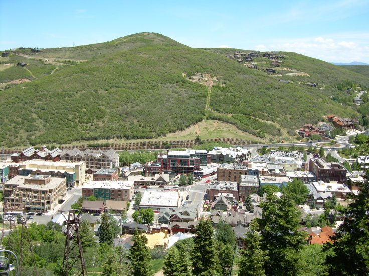 Park City, UT in summer