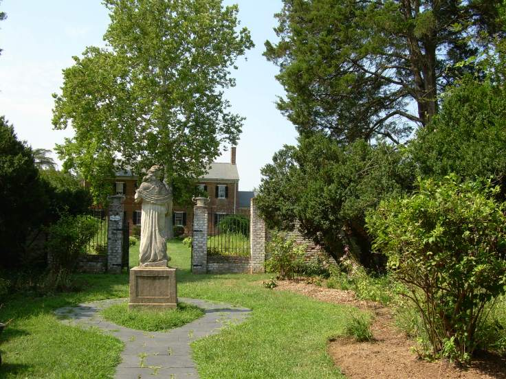In the Garden of Chatham Manor - Fredericksburg, VA