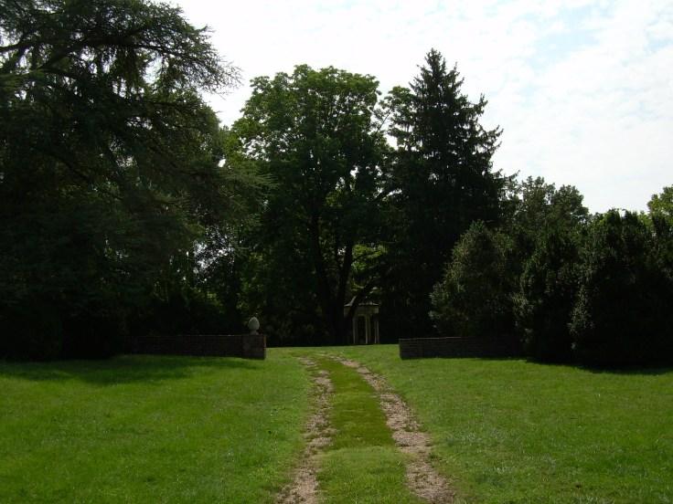 Walking to the Gazebo at Chatham Manor - Fredericksburg, VA