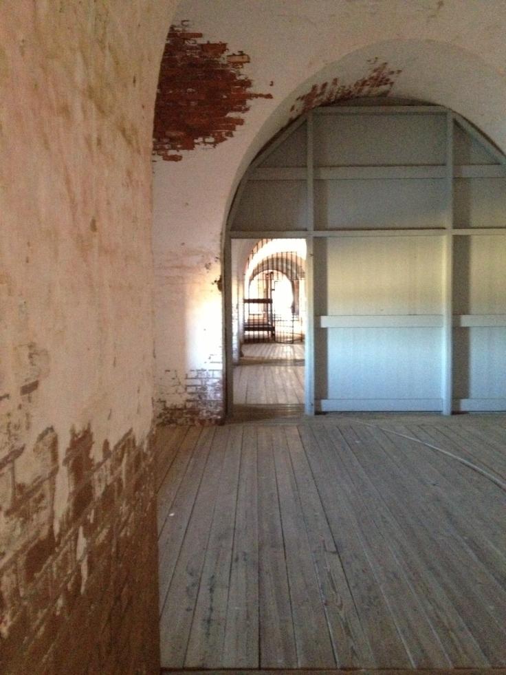 Inside Fort Pulaski