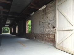 Entering the barn - Spanish Moss Trail