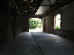 Inside the barn - Spanish Moss Trail