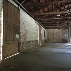 Inside view of barn - Spanish Moss Trail
