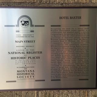 Baxter Hotel - Bozeman, MT