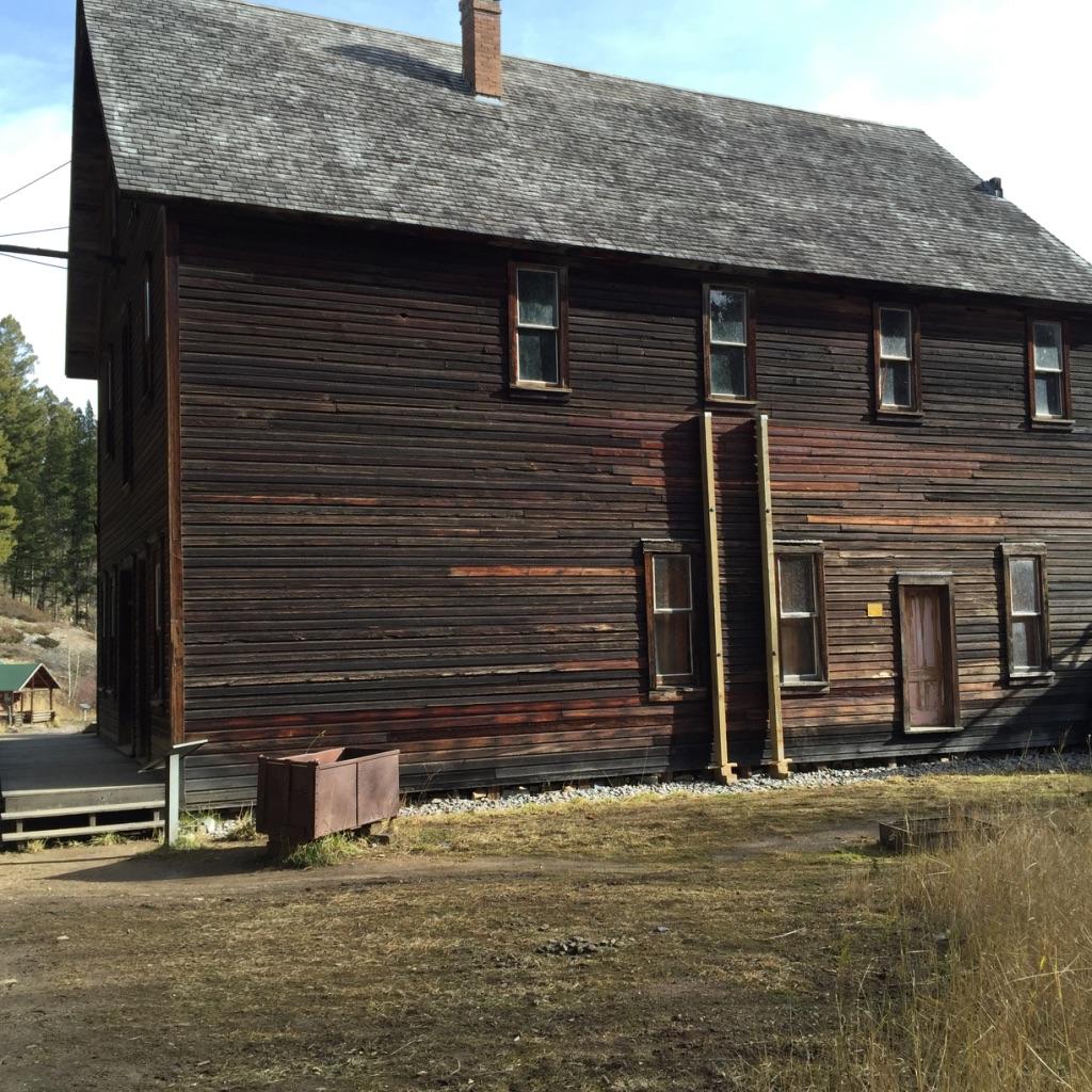 J.H. Wells Hotel - Garnet Ghost Town (Montana)