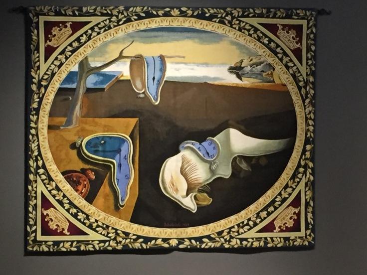 persistence-de-la-memoire-tapestry