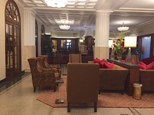 Lobby of The Eldridge Hotel - Lawrence, Kansas