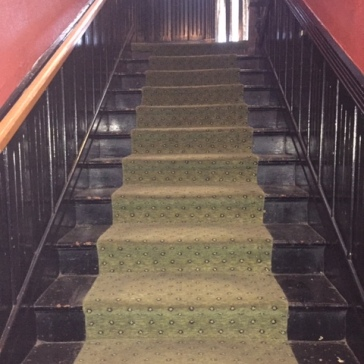 Back stairs - Crescent Hotel