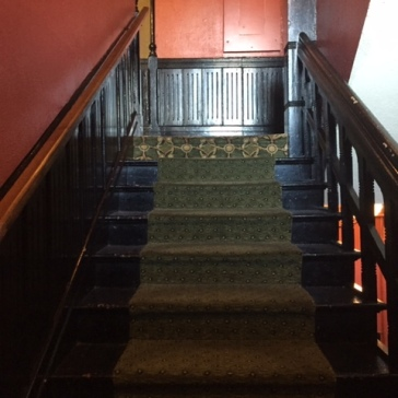 Haunted stairs?