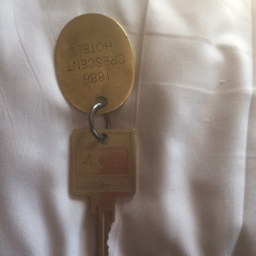 Room 401 - Crescent Hotel Key